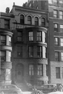 531 Beacon (ca. 1942), photograph by Bainbridge Bunting, courtesy of The Gleason Partnership