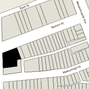 Irregular Lot: 104.67' on Charlesgate East and 102.71' on Beacon (12,259 sf)