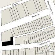 Irregular Lot: 45.93' on Charlesgate East and 125.33' on Marlborough (7,339 sf)