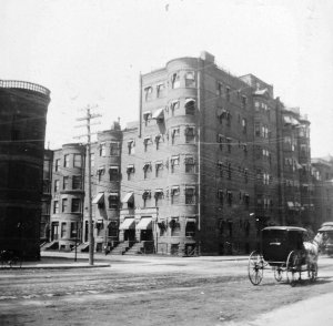 421-425 Marlborough (ca. 1897); courtesy of Historic New England