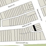 Irregular Lot: 24' on Marlborough (1,960 sf)