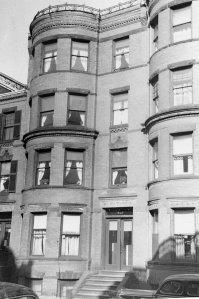 427 Marlborough (ca. 1942), photograph by Bainbridge Bunting, courtesy of The Gleason Partnership