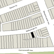 Irregular Lot: 23.17' on Marlborough (1,566 sf)