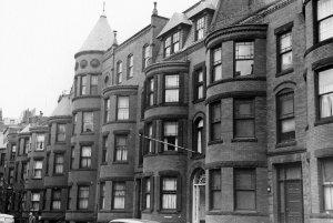 433-443 Marlborough (ca. 1942), photograph by Bainbridge Bunting, courtesy of The Gleason Partnership