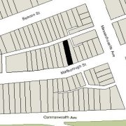 Irregular Lot: 23.21' on Marlborough (2,721 sf)