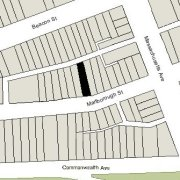 Irregular Lot: 23.15' on Marlborough (2,602 sf)
