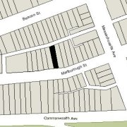 Irregular Lot: 23.13' on Marlborough (2,465 sf)
