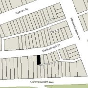 Irregular Lot: 22.82' on Marlborough (1,652 sf)