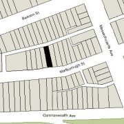 Irregular Lot: 23.13' on Marlborough (2,333 sf)