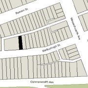 Irregular Lot: 24' on Marlborough (2,155 sf)