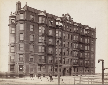7-9 Massachusetts (ca 1890); courtesy of the Boston Public Library, Print Department