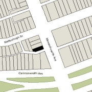 Irregular Lot: 22.93' on Massachusetts Avenue (1,495 sf).