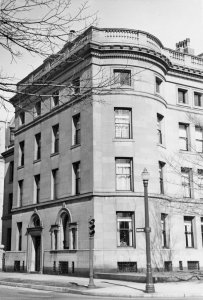 24 Charlesgate East (419 Commonwealth) (ca. 1942), photograph by Bainbridge Bunting, courtesy of The Gleason Partnership