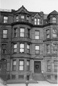 389 Commonwealth (ca. 1942), photograph by Bainbridge Bunting, courtesy of The Gleason Partnership
