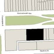 Combined Irregular Lot: 190' on Commonwealth (23,759 sf)