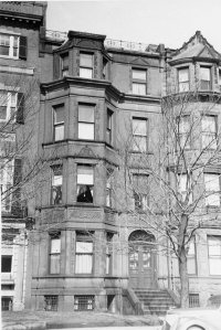 391 Commonwealth (ca. 1942), photograph by Bainbridge Bunting, courtesy of The Gleason Partnership