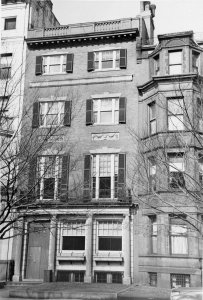 393 Commonwealth (ca. 1942), photograph by Bainbridge Bunting, courtesy of The Gleason Partnership