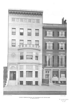 395 Commonwealth (1901); The American Architect (American Architect and Building News), 21Dec1901 (no. 1356), p. 94 (original printed across two pages)