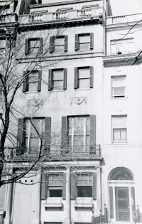 407 Commonwealth (ca. 1942), photograph by Bainbridge Bunting, courtesy of the Boston Athenaeum