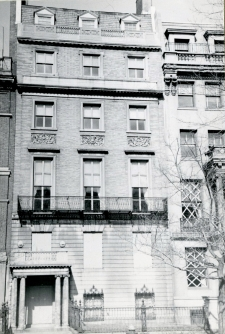 411 Commonwealth (ca. 1942), photograph by Bainbridge Bunting, courtesy of the Boston Athenaeum