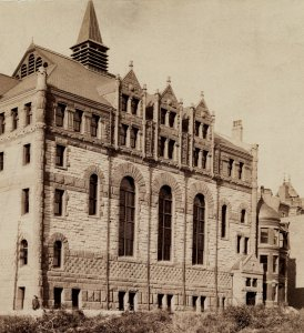 26 Exeter (ca. 1885), detail from photograph by F. A. Tremaine; Ryerson and Burnham Archives, The Art Institute of Chicago (Digital file #43950).