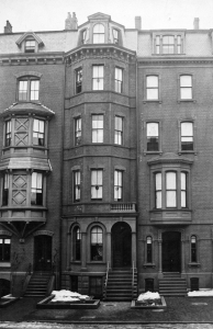 16 Marlborough (ca. 1869), detail from photograph courtesy of the Bostonian Society