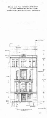 Marl 089 - Front Elevation - BPL - Blueprint BW