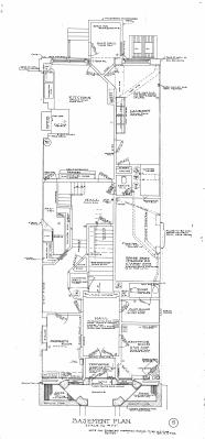 Marl 189 - Floor Plan (1906) - Basement Reverse