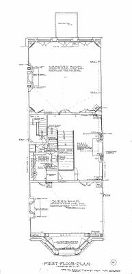 Marl 189 - Floor Plan (1906) - First Reverse