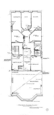 Marl 189 - Floor Plan (1906) - Fourth Reverse