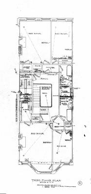 Marl 189 - Floor Plan (1906) - Third Reverse