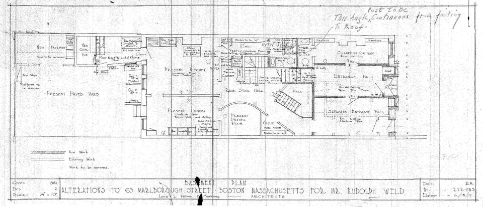 Marl 063 - 1917 Remodeling - Basement